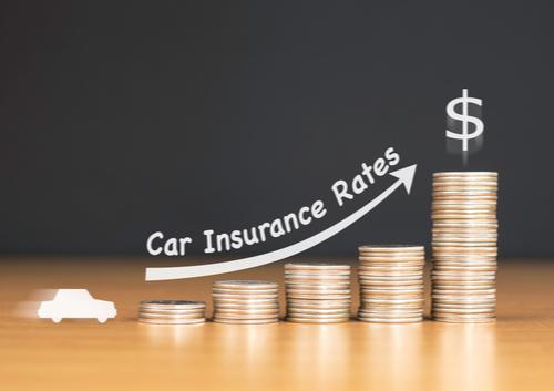 car insurance rates rising