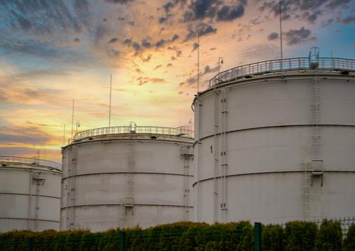big oil barrel of oil