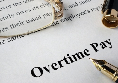 overtime pay law contract